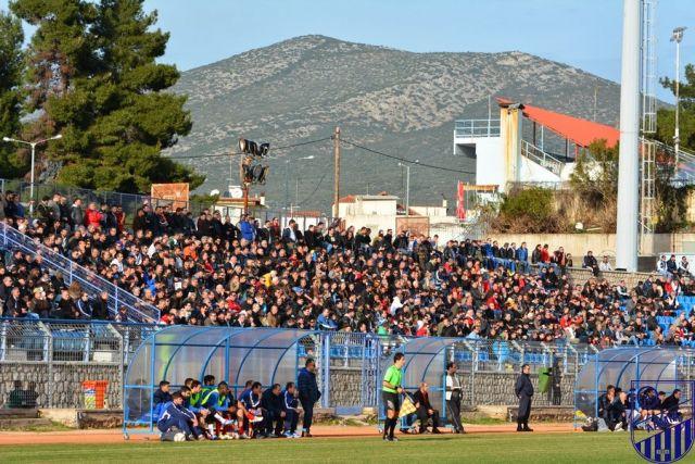 Αποδοκίμασαν τον Χρ. Σταϊκούρα χθες στο γήπεδο της Λαμίας