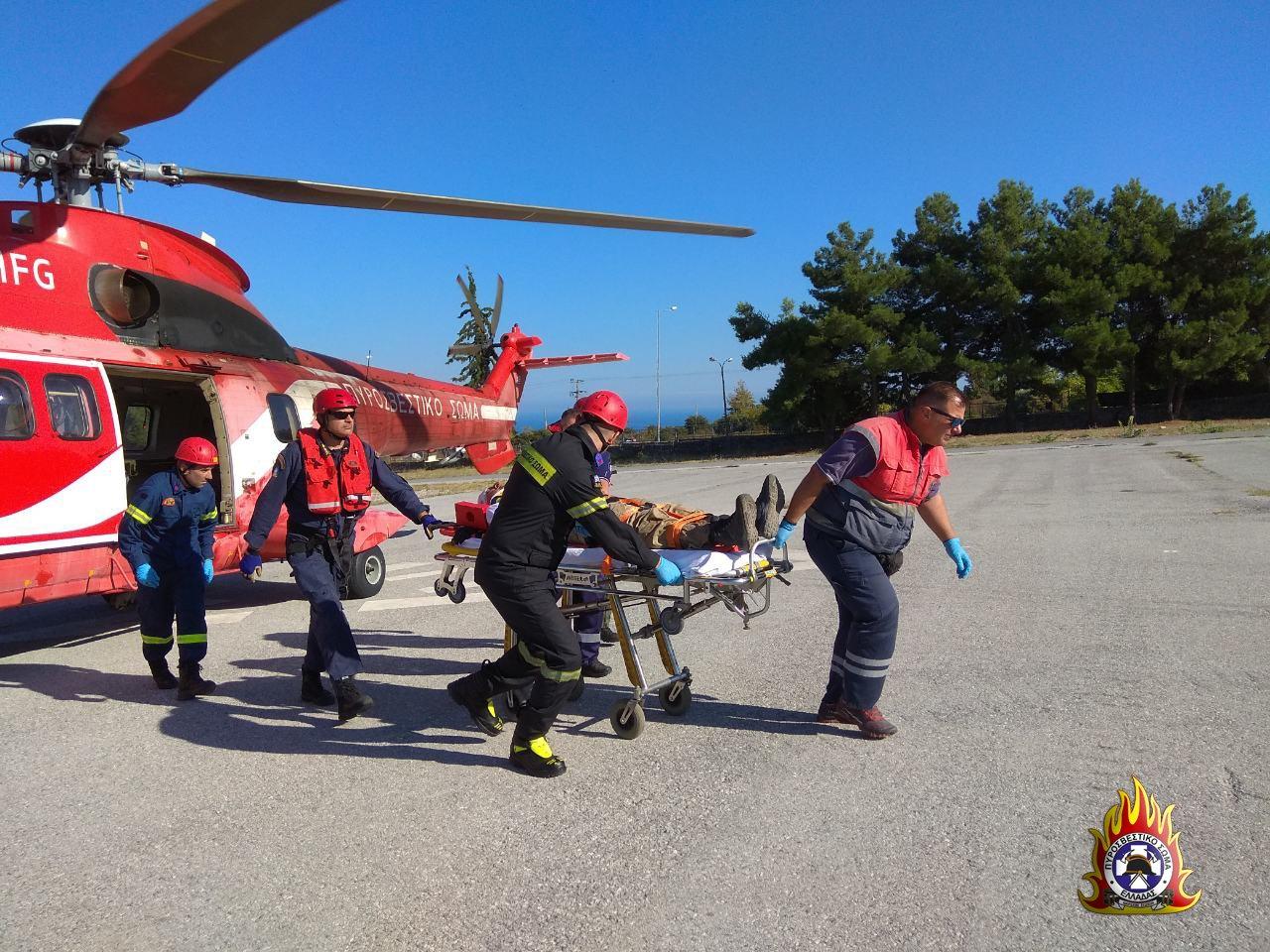 EFjobZLXoAAtU6  - Η δραματική επιχείρηση διάσωσης του ορειβάτη γιατρού στον Όλυμπο (φωτο)