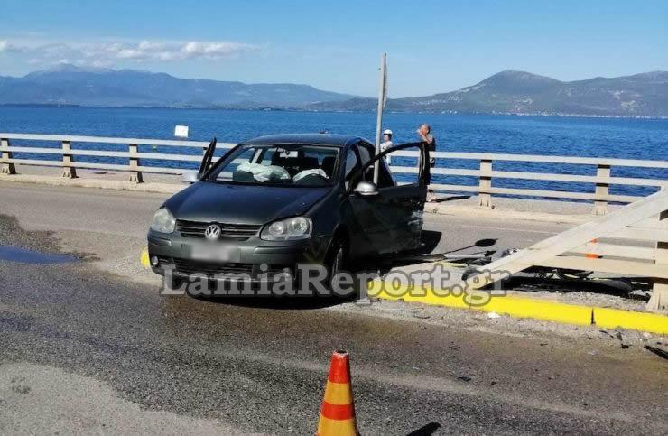 Νεκρός οδηγός σε τροχαίο στην Λαμία