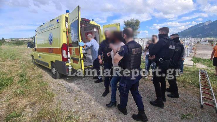 Λαμία: Θρίλερ με γιαγιά που βρέθηκε χτυπημένη δίπλα στο νεκροταφείο-Έπιασαν μια 63χτονη[photos]