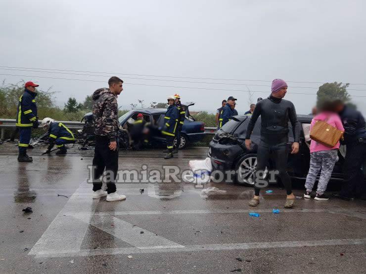 20181023 1550411 - Σοβαρό τροχαίο με μητέρα και μωρό - Μόλις βγήκαν από το μαιευτήριο της Λάρισας