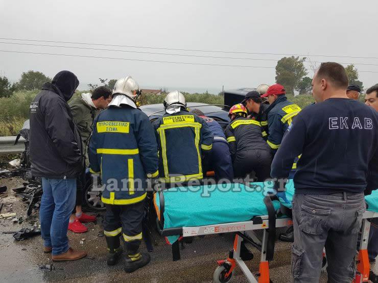 20181023 155350 - Σοβαρό τροχαίο με μητέρα και μωρό - Μόλις βγήκαν από το μαιευτήριο της Λάρισας
