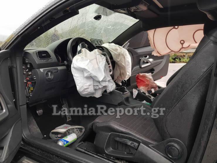 20181023 155357 - Σοβαρό τροχαίο με μητέρα και μωρό - Μόλις βγήκαν από το μαιευτήριο της Λάρισας