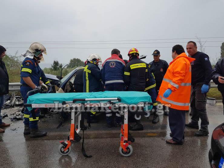 20181023 155432 - Σοβαρό τροχαίο με μητέρα και μωρό - Μόλις βγήκαν από το μαιευτήριο της Λάρισας