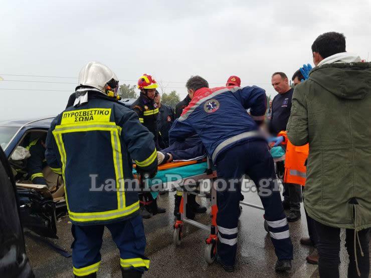 20181023 155455 - Σοβαρό τροχαίο με μητέρα και μωρό - Μόλις βγήκαν από το μαιευτήριο της Λάρισας