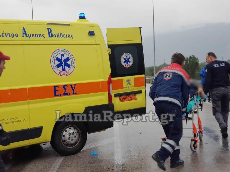 20181023 155525 - Σοβαρό τροχαίο με μητέρα και μωρό - Μόλις βγήκαν από το μαιευτήριο της Λάρισας