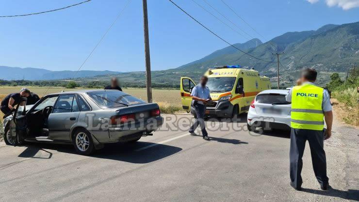 Λαμία: Σοβαρό τροχαίο με τέσσερις τραυματίες[video]