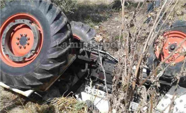Άλλος ένας αγρότης βρήκε τραγικό θάνατο από το ίδιο του το τρακτέρ (ΦΩΤΟ)