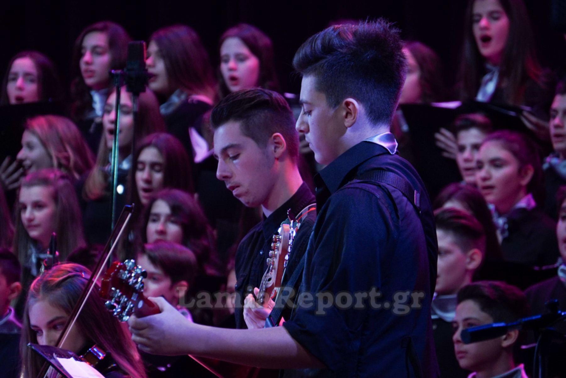 2c6b6508a65 Πήγαμε στη Χριστουγεννιάτικη Συναυλία του Μουσικού Σχολείου Λαμίας (ΒΙΝΤΕΟ  - ΦΩΤΟ)