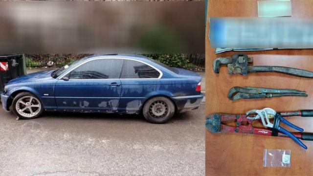 Ρομά δεν είχαν αφήσει αυτοκίνητο για αυτοκίνητο στη Στερεά