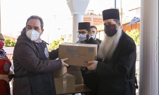 Μητρόπολη Φθιώτιδας: Μοίρασε 20.000 γεύματα για την περίοδο του Πάσχα σε Αν. Φθιώτιδα και Λαμία