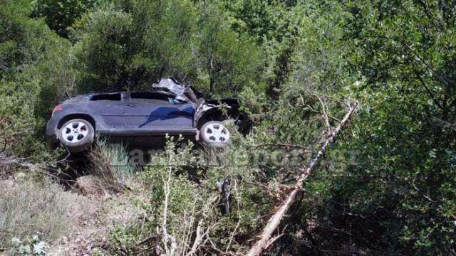 Φθιώτιδα: Αυτοκίνητο έφυγε σε γκρεμό - Τρεις τραυματίες