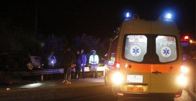 Θανατηφόρα παράσυρση άνδρα το βράδυ στην εθνική οδό στο ύψος της Ριτσώνας