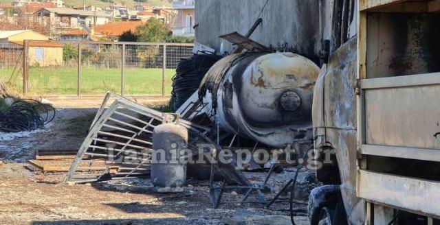 Λαμία: Παραλίγο νέα τραγωδία στην αποθήκη με τις φιάλες - Μαρτυρίες και ΒΙΝΤΕΟ