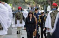 Κατερίνα Σακελλαροπούλου: Μέσα στο ζόφο της πανδημίας, να φροντίσουμε τους αδύναμους