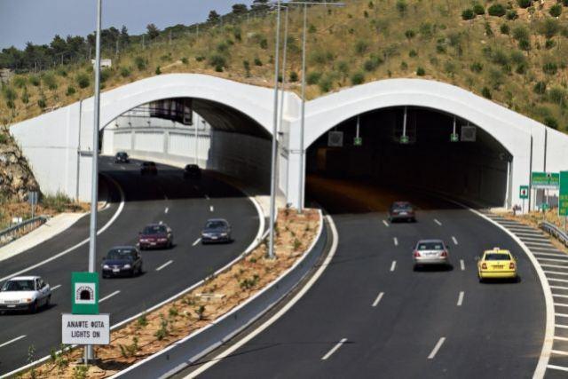Κυκλοφοριακές Ρυθμίσεις από αύριο στις σήραγγες Αγ. Κωνσταντίνου και Καμένων Βούρλων