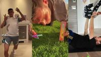 Κορωνοϊός: Τι κάνουν διάσημοι ποδοσφαιριστές στην καραντίνα - Γυμναστική και social media - BINTEO
