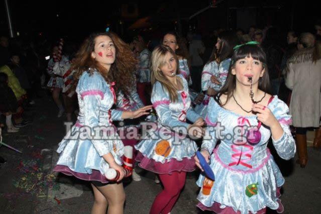 Λαμιώτικο καρναβάλι... Το πρόγραμμα