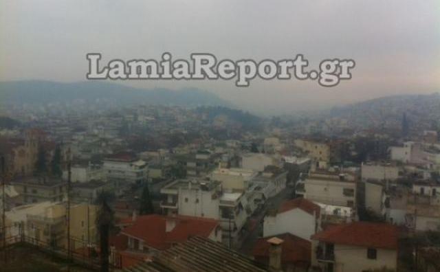 LIVE παρακολούθηση της αιθαλομίχλης σε πέντε πρωτεύουσες νομών της Στερεάς Ελλάδας