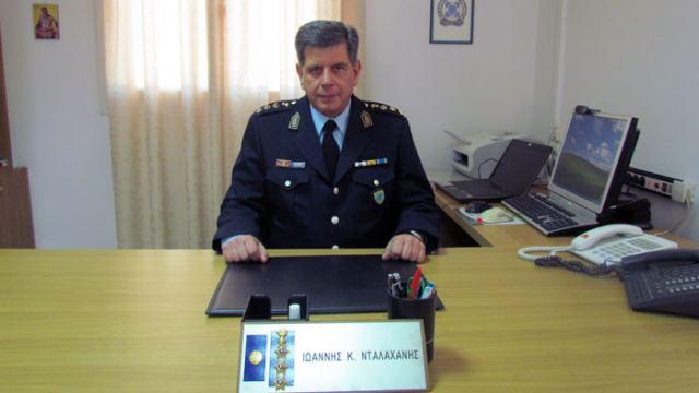 Ο νέος Αστυνομικός Διευθυντής της ΔΑ Φωκίδας