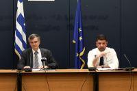 Τα έκτακτα μέτρα θα συνεχιστούν και τον Απρίλιο- Τι είπαν Τσιόδρας- Χαρδαλιάς