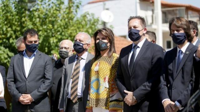 Επίσκεψη αντιπροσωπείας της Επιτροπής «Ελλάδα 2021» στην Λιβαδειά(ΦΩΤΟ)