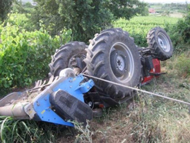 Έχασε τη ζωή του ο 69χρονος αγρότης που καταπλακώθηκε από το τρακτέρ του