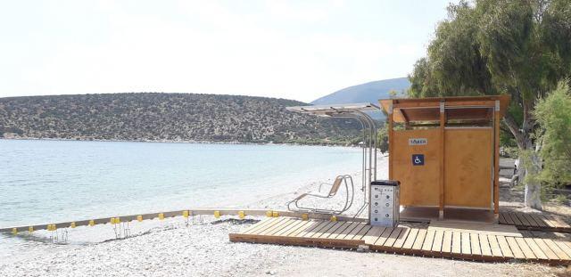 Δήμος Θηβαίων: Τοποθετήθηκαν σε τρεις παραλίες ράμπες πρόσβασης ...