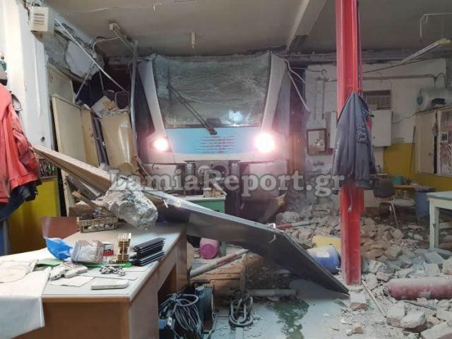 Λαμία: Εκτροχιάστηκε τρένο μέσα στην πόλη - Δείτε εικόνες - ΒΙΝΤΕΟ