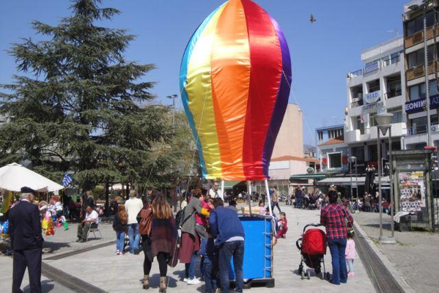 Αυτό το Σάββατο το αερόστατο των αεροπροσκόπων στην Λαμία - Έλα και εσύ!