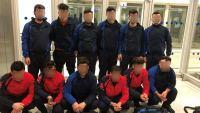 Συνελήφθησαν αλλοδαποί που προσπάθησαν να φύγουν από την Ελλάδα προσποιούμενοι τους αθλητές χάντμπολ