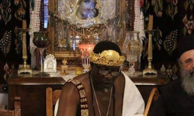 Ο βασιλιάς που βαπτίστηκε Χριστιανός στο Άγιο Όρος - Δείτε εικόνες!