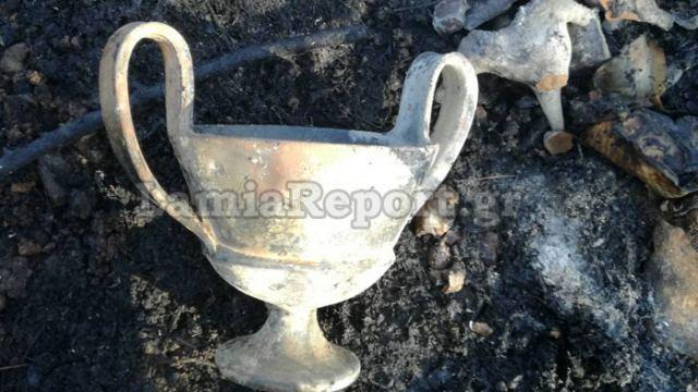 Φθιώτιδα: Η πυρκαγιά αποκάλυψε κρυμμένο αρχαίο θησαυρό! (ΦΩΤΟ)