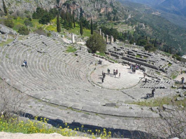 Στερεά: Αρχίζουν εργασίες αποκατάστασης στο Αρχαίο Θέατρο των Δελφών