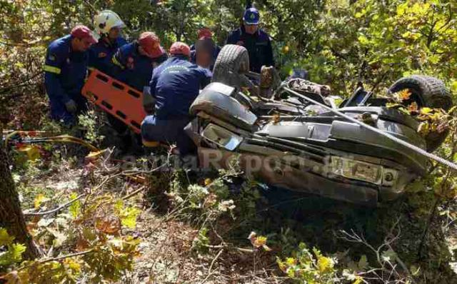 Φθιώτιδα: Έπεσαν στη χαράδρα – Επιχείρηση διάσωσης (ΦΩΤΟ)
