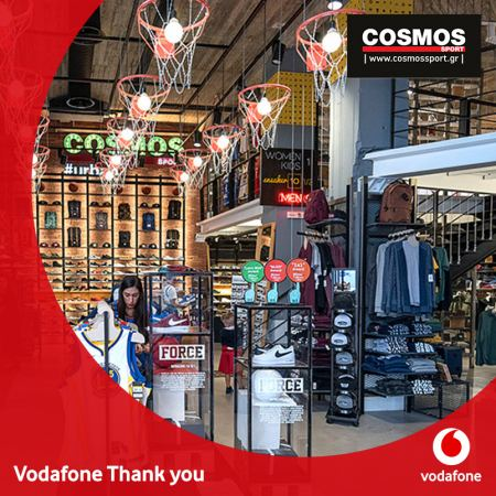 Vodafone Thank You & Cosmos Sport!