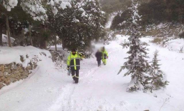 Θάνατος στα χιόνια μετά το ρεβεγιόν