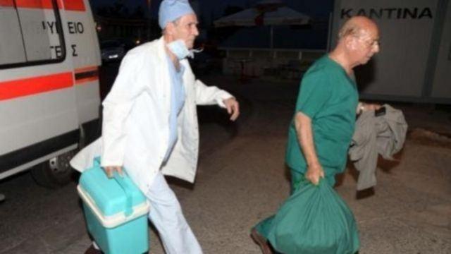 Λαμία: «Γέφυρα ζωής» στο νοσοκομείο για δωρεά οργάνων